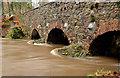J3268 : The muddy Minnowburn, Belfast (2013) by Albert Bridge