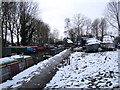 SU2199 : Riverside Marina in winter, Lechlade by Vieve Forward