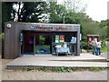 SY9787 : Information centre at the RSPB's Arne nature reserve by Phil Champion