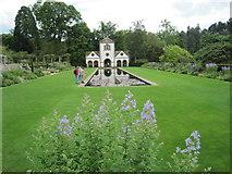 SH7972 : Bodnant Garden, The Pin Mill by Nigel Thompson