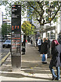 SP0687 : Bus information display, Colmore Row by Robin Stott