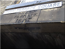 SE0824 : Datestone for Green Terrace Square by Stephen Craven
