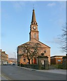 NS3975 : Dumbarton Riverside Parish Church by Lairich Rig