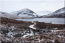 NN3268 : Track Beside Loch Treig by Doug Lee