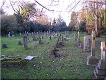 TL1314 : St.Nicholas Churchyard by Adrian Cable