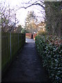 TL1314 : Path to Kirkwick Avenue by Adrian Cable