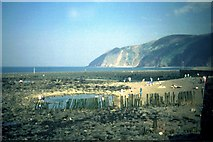 SS7249 : Lynmouth - 1988 by Helmut Zozmann
