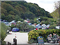 SY8280 : Car park at Lulworth Cove by Phil Champion