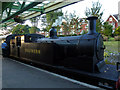 SZ0278 : LSWR M7 class 0-4-4T no 53  at Swanage Station  by Phil Champion