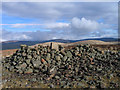 NT8709 : Summit of Shillhope Law by Trevor Littlewood