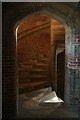 TF2157 : Stair well in Tattershall Castle by David Lally