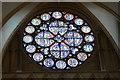 SK9771 : Dean's Eye window, Lincoln Cathedral by Julian P Guffogg