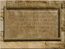 SD7507 : Inscription, St Matthew's Church by David Dixon