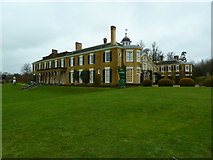 TQ1352 : South and east elevations of Polesden Lacey by Alexander P Kapp