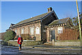SJ8866 : North Rode church hall by Peter Turner