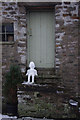 SD6178 : Snowman on the steps by Ian Taylor