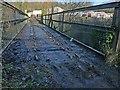 SO0307 : Pont-y-Cafnau trackbed, Merthyr Tydfil by Robin Drayton