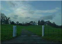 SJ5308 : The gate to Cronkhill by Peter Evans