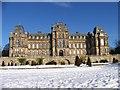 NZ0516 : Bowes' Museum, Barnard Castle, in snow by Elliott Simpson