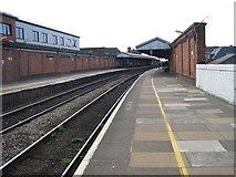 SO8455 : Worcester Foregate Street railway station by Nigel Thompson