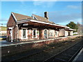 SX8499 : Crediton Station by Chris Allen
