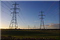 SD4359 : Transmission lines, Heaton by Ian Taylor