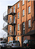SK3436 : Derby - The Mill on Lodge Lane by Dave Bevis