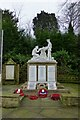 SK4341 : West Hallam war memorial by David Lally