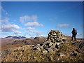 SD1996 : Cairn on Great Worm Crag by Karl and Ali