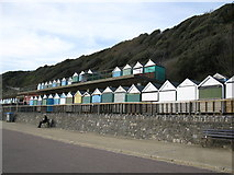 SZ1191 : Stacked beach huts by don cload