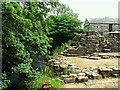 NY5415 : Ruins of Shap Abbey beside the River Lowther by Rose and Trev Clough