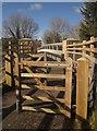 SX7685 : Bridge, Wray Valley Trail by Derek Harper