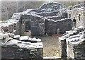 NT4437 : Ruins at Whytbank Tower by Jim Barton