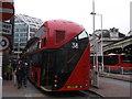TQ2879 : The Boris Bus comes into Victoria Bus Station (2) by David Anstiss