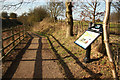 SK7971 : Fledborough access ramp by Richard Croft