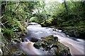 NY5655 : Falls Near Hynam Weir by David Liddle
