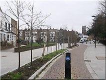TQ3385 : Path to Wordsworth Road, Stoke Newington by David Anstiss