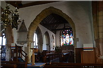 TQ7444 : Chancel Arch and Chancel, St Michael's church, Marden by Julian P Guffogg