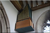 TQ7444 : Chancel organ, St Michael & All Angels' church, Marden by Julian P Guffogg
