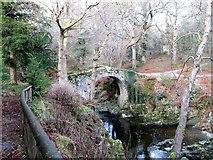 J3432 : View upstream towards Foley's Bridge by Eric Jones