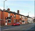 SJ9594 : Stockport Road by Gerald England