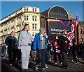 J3374 : Flag protesters, Belfast by Rossographer