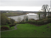 NT9953 : Looking over Coronation Park towards the River Tweed by Graham Robson