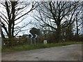 SW8452 : Milestone (from Truro 5 miles) near Killiserth by David Smith