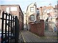 SD5805 : Barracks Yard, Wigan by Christine Johnstone