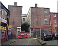 SD5805 : Arcade Street, Wigan by Christine Johnstone