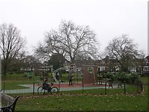 TQ3187 : Play Area, Finsbury Park by David Anstiss