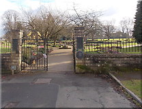 SO6302 : An entrance to Bathurst Park, Lydney by Jaggery