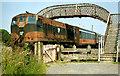 S9909 : Passenger train, Bridgetown station (1990) by Albert Bridge