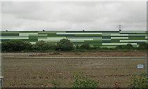 ST3139 : Section of Morrison's distribution centre, Bridgwater by Robin Stott
